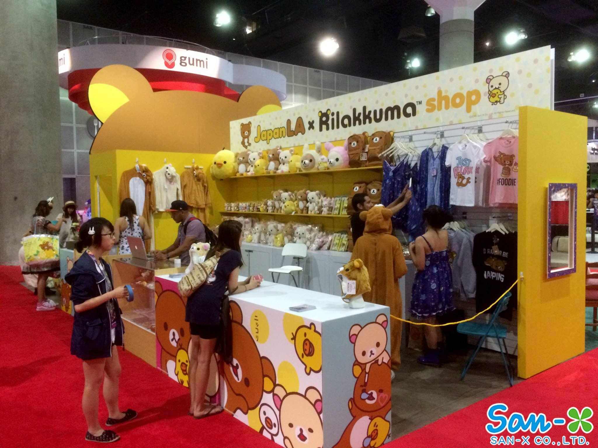 Rilakkuma Booth at Anime Expo
