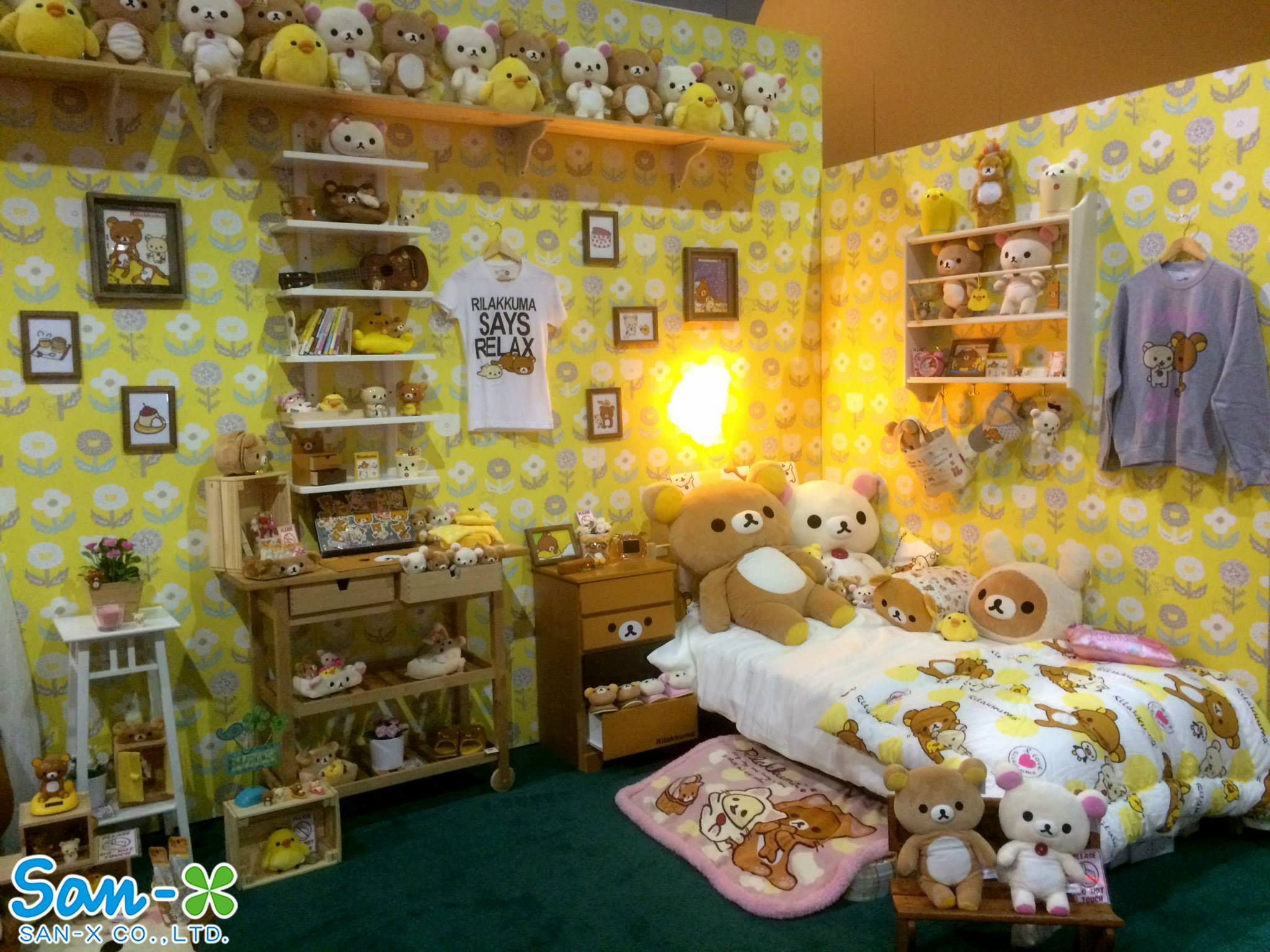"""Rilakkuma Room"" at Anime Expo"