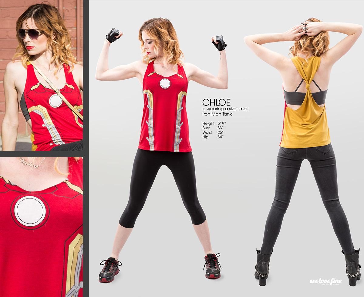 We Love Fine x Avengers Styling