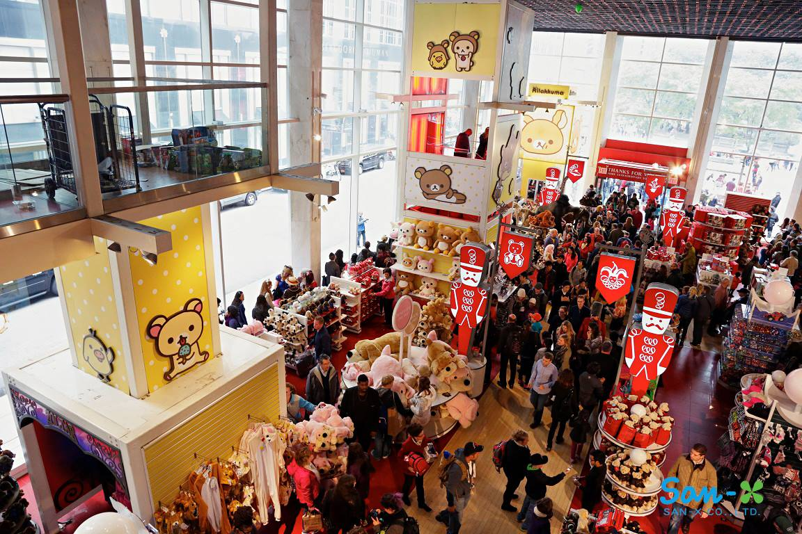 Rilakkuma Event at FAO Schwarz in NYC