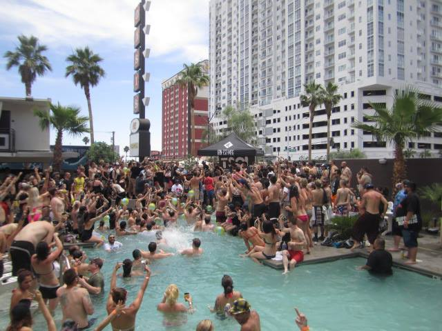 Iron Fist Clothing & TSOL Pool Party & Concert at MAGIC Las Vegas