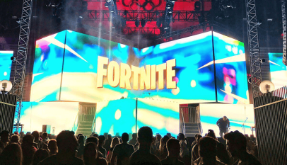 Fortnite Party Royale and Concert at the Coliseum, Los Angeles