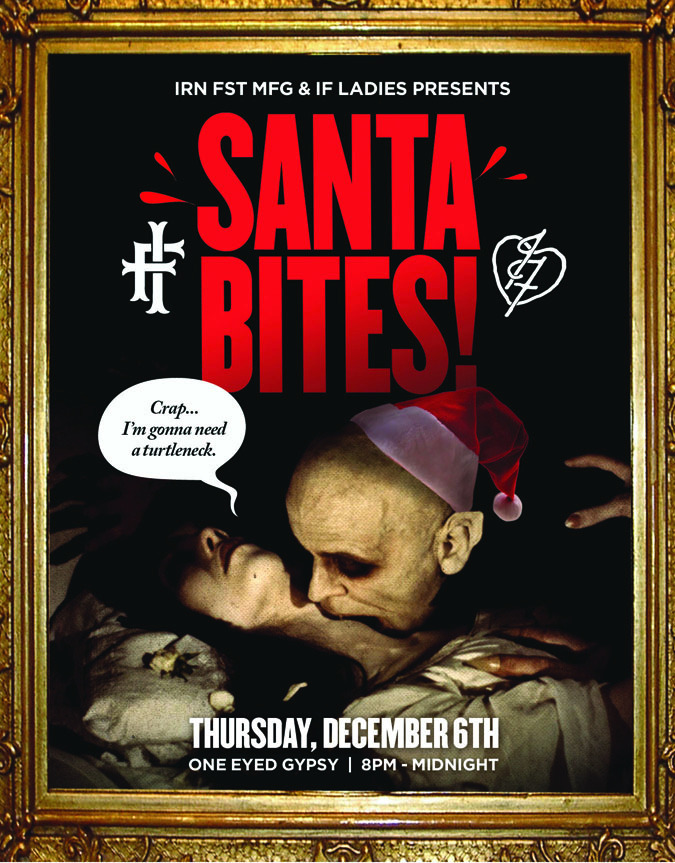 "Iron Fist Clothing ""Santa Bites"" Party"