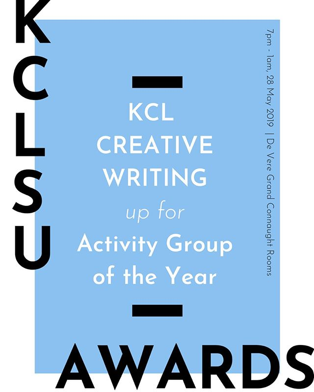 It is a pleasure to announce that we have been nominated for the @kclsu  Awards 2019 ♥ We are so proud of everything we have achieved this year, which of course would've been impossible without the support of our members. Thank you all so very much! • If you'd like to attend, get your tickets through kclsu.org !