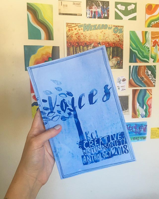 Our anthology is out now and available for purchase! Follow the link in bio to get your copy ✰