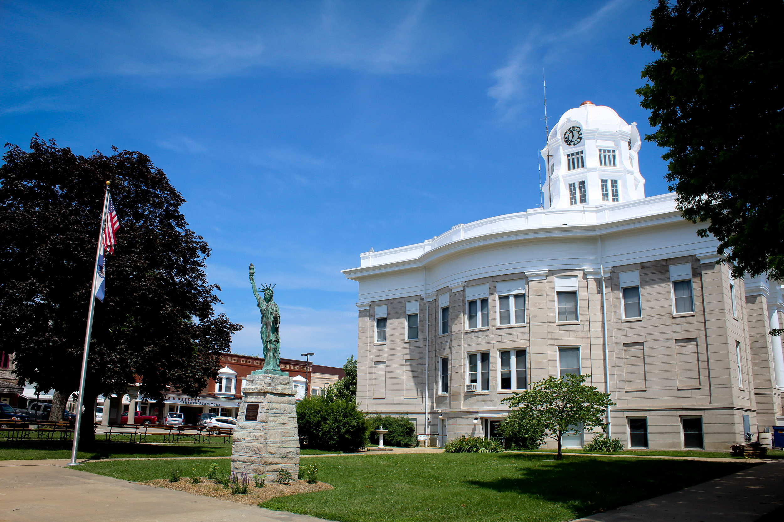 Scotland County Courthouse, Memphis, Missouri