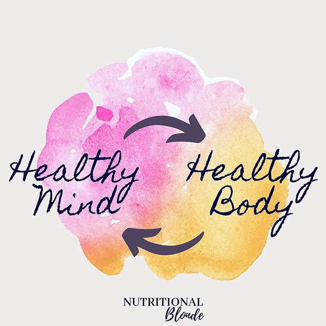 Do you think there's a link between a healthy mind and a healthy body? Comment your thoughts below 👇🏼 . A healthy mind does not include being obsessed with calories or macros. It does not include looking at yourself in the mirror and tearing yourself apart. It does not include fear of certain foods  #FoodFreedom AND overall health are possible❤️ _______________ #selflovesunday #haes #loveyourself #dietculture #nondietapproach #nutritionist #ditchthediet #eatyourcolors #allfoodsfit #nutritionalblonde #iamwellandgood #mindfulliving #nourishyourself #healthyhappylife #liveinspired  #CultivateSelfLove #DeclareYourOwnAuthenticBeauty  #TheBodyPositive #BeBodyPositive #LoveYourBody #LiveYourLife #Embody #LoseHateNotWeight  #bopowarrior #bodypositive #selflove #bodypos #aeriereal #normalizenormalbodies