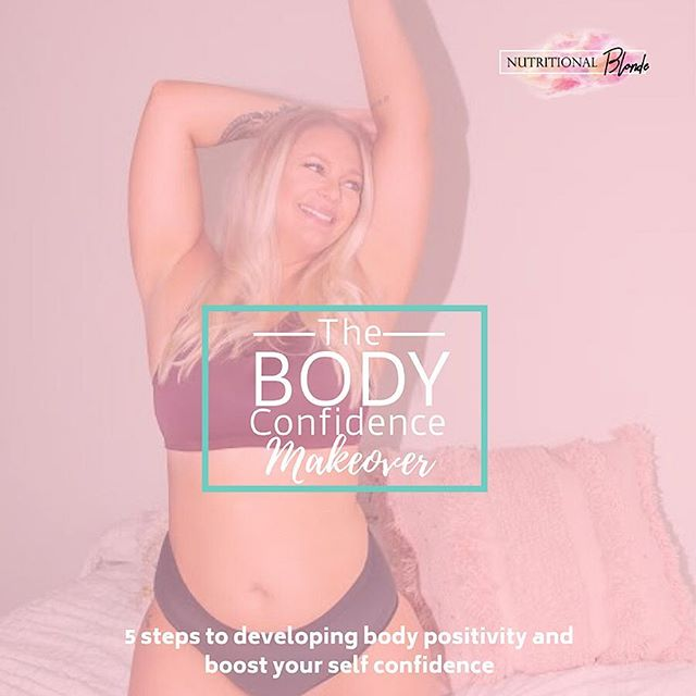 """What if the """"perfect"""" body was the one your in today?  Download my free program to learn the 5 steps you can take to stop feeling uncomfortable in your body and start living the life you've been dreaming of 😘  Click the link in my bio to get yours ______________ #normalizenormalbodies #dietculture #selflovesunday #haes #loveyourself #dietculture #nondietapproach #nutritionist #ditchthediet #eatyourcolors #allfoodsfit #nutritionalblonde #iamwellandgood #mindfulliving #nourishyourself #healthyhappylife #liveinspired  #CultivateSelfLove #DeclareYourOwnAuthenticBeauty  #TheBodyPositive #BeBodyPositive #LoveYourBody #LiveYourLife #Embody #LoseHateNotWeight  #bopowarrior #bodypositive #selflove #bodypos #aeriereal"""