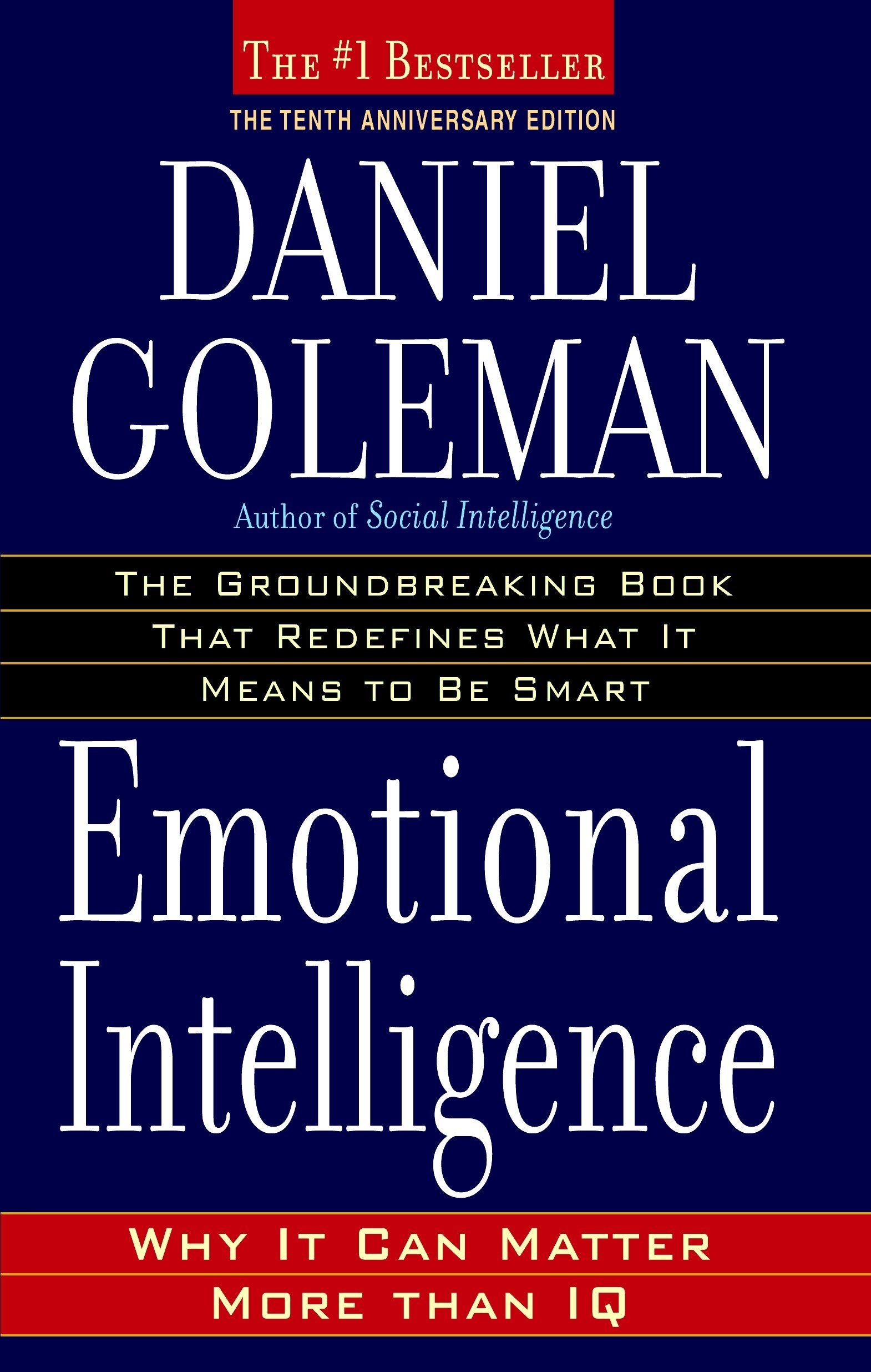Emotional Intelligence by Daniel Coleman - IQ is locked, EQ (emotional intelligence) can be learned. The most powerful tool to becoming the natural leader that exists inside you. Read More