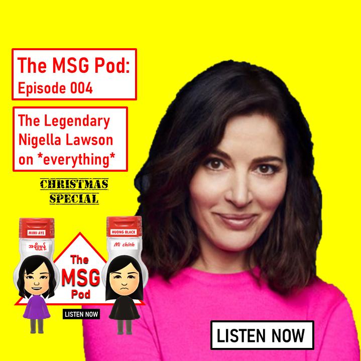 The MSG Pod: Episode 004 - Nigella Lawson - CHRISTMAS SPECIAL