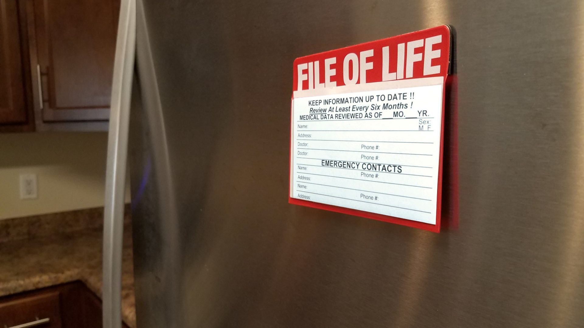 File of Life on the fridge.jpg