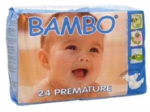 Bambo Eco-friendly Premature Baby Nappies