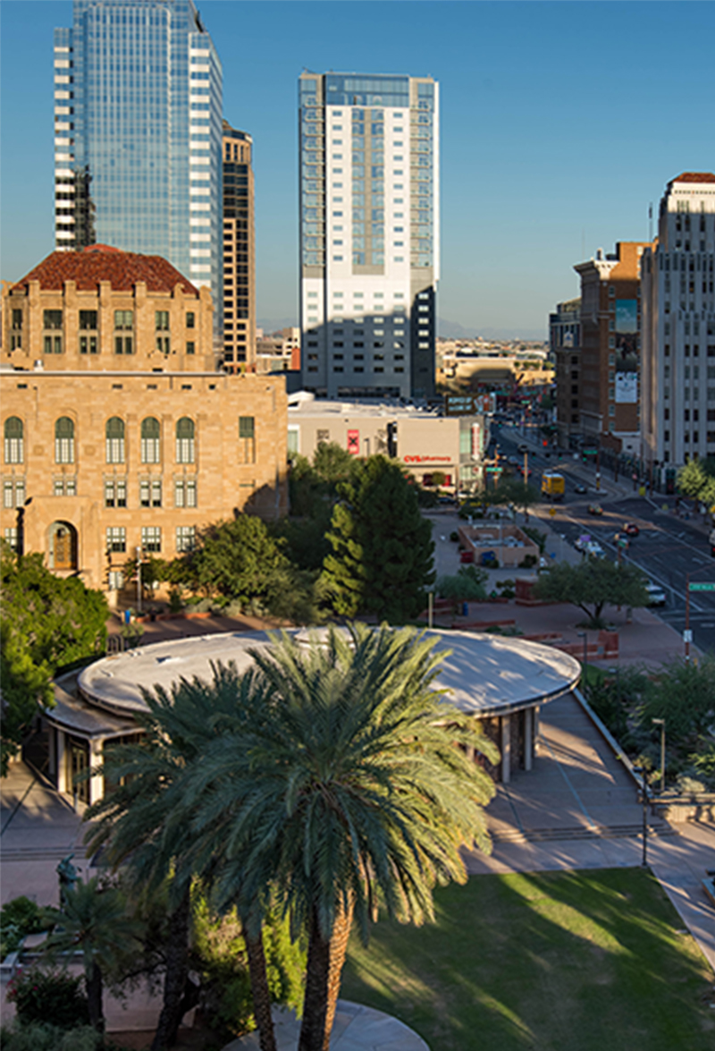 Phoenix HQ - 515 E Grant St, Phoenix, AZ 85004480.530.6350