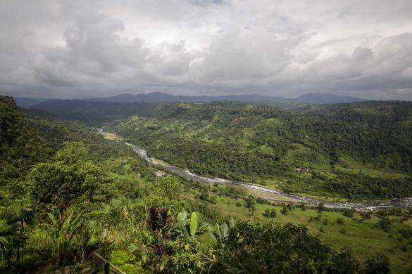 Cambugán River, Ecuador
