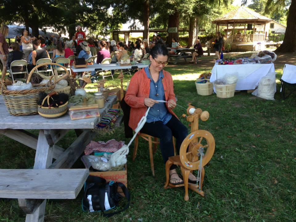The  Not So Simple Living Fair  is a weekend of hands-on workshops and demonstrations celebrating rural living and homesteading skills in the Anderson Valley of Mendocino County, CA.