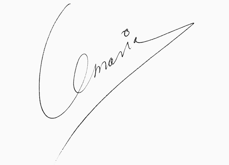 Sam Umaria Signature