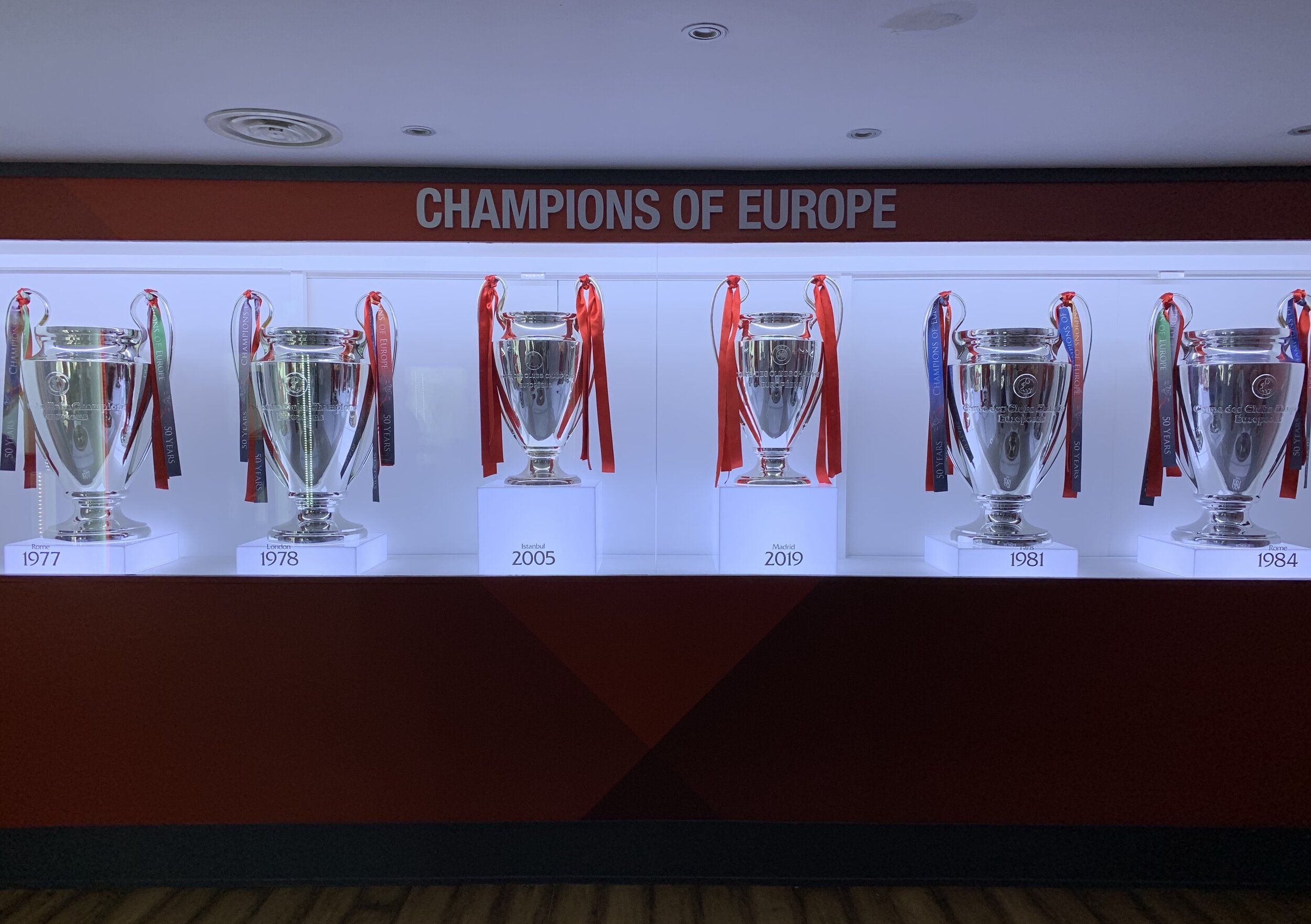 Champions of Europe, Times Six