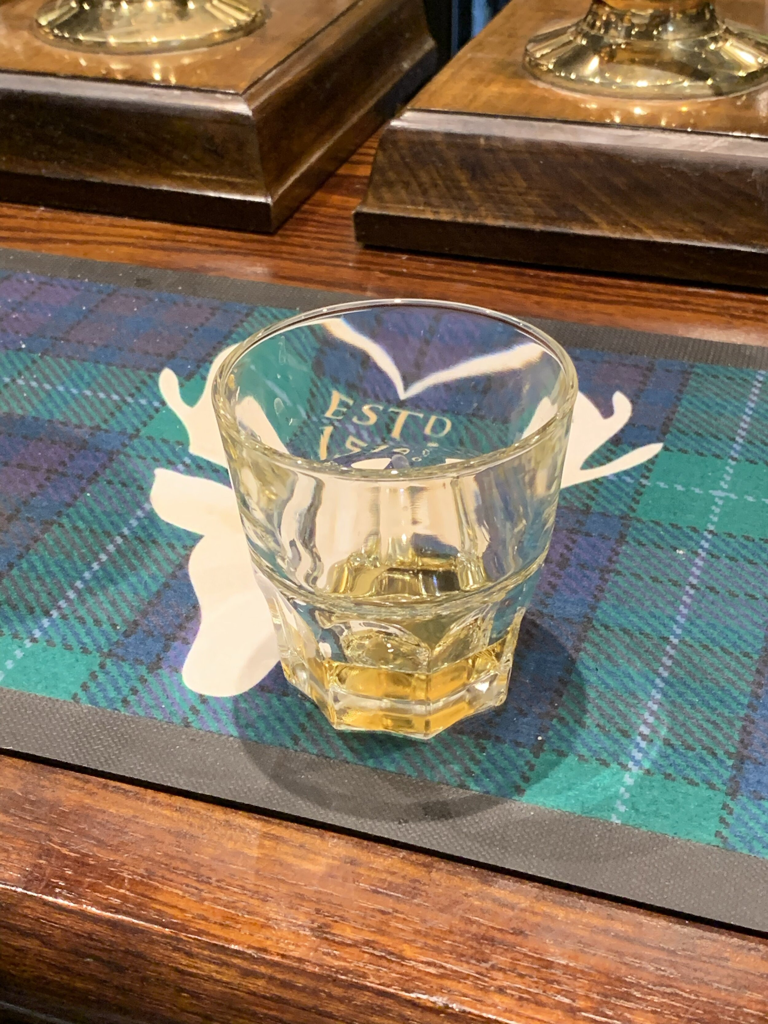 My First Scotch in Scotland