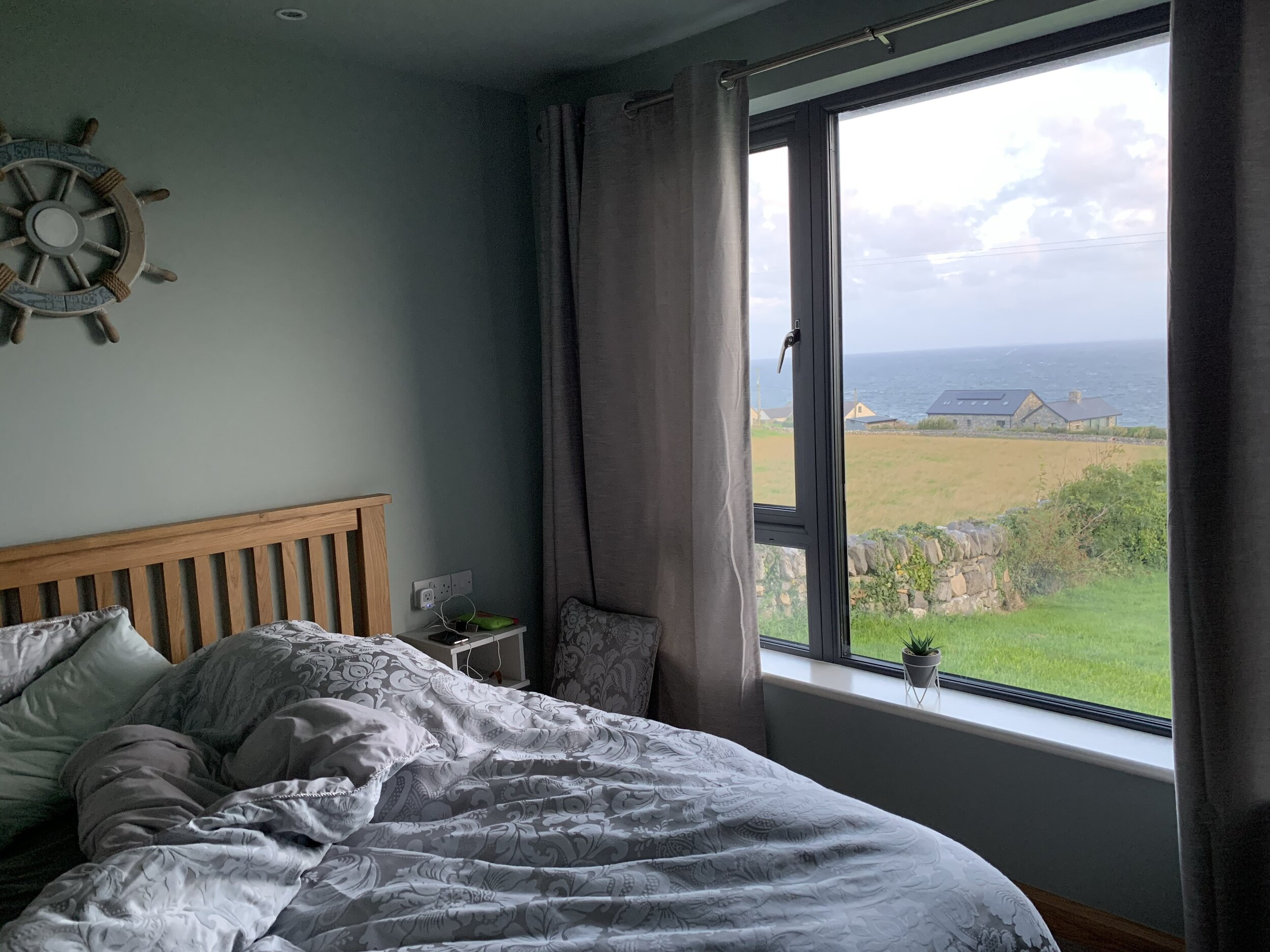 Connoles Gatehouse, Bedroom View (Airbnb)