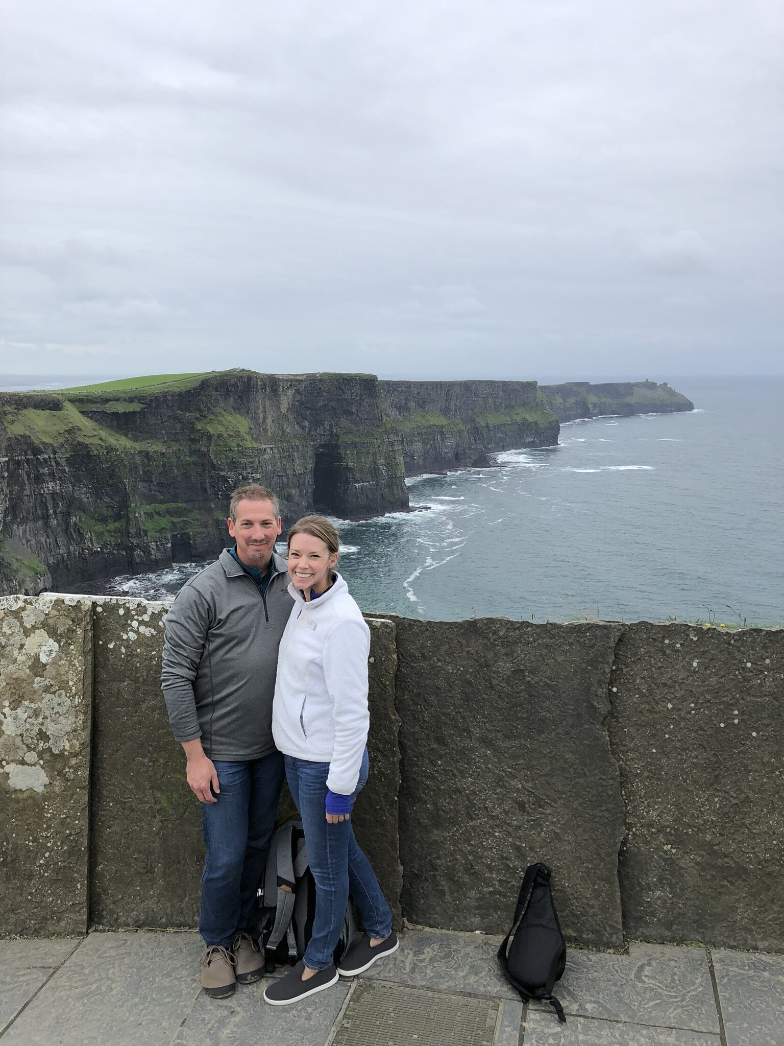 Jesse & Emily at The Cliffs of Moher