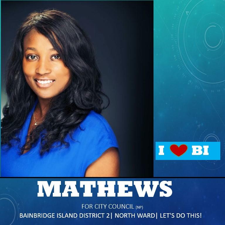 Ashley Mathews for City Council North Ward