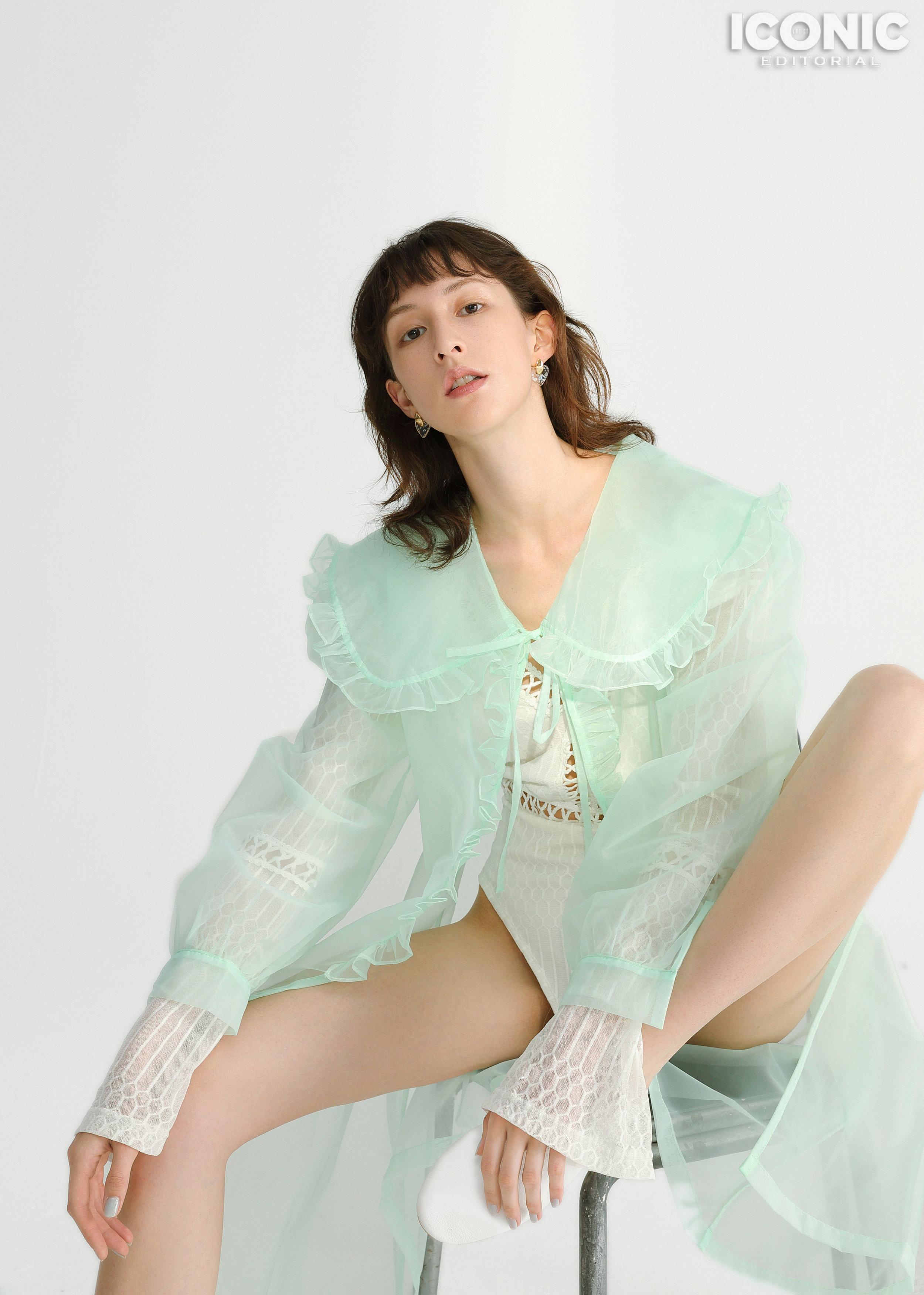 6/8  Green Gauze Clothing |  @cj_yao   © Leesin