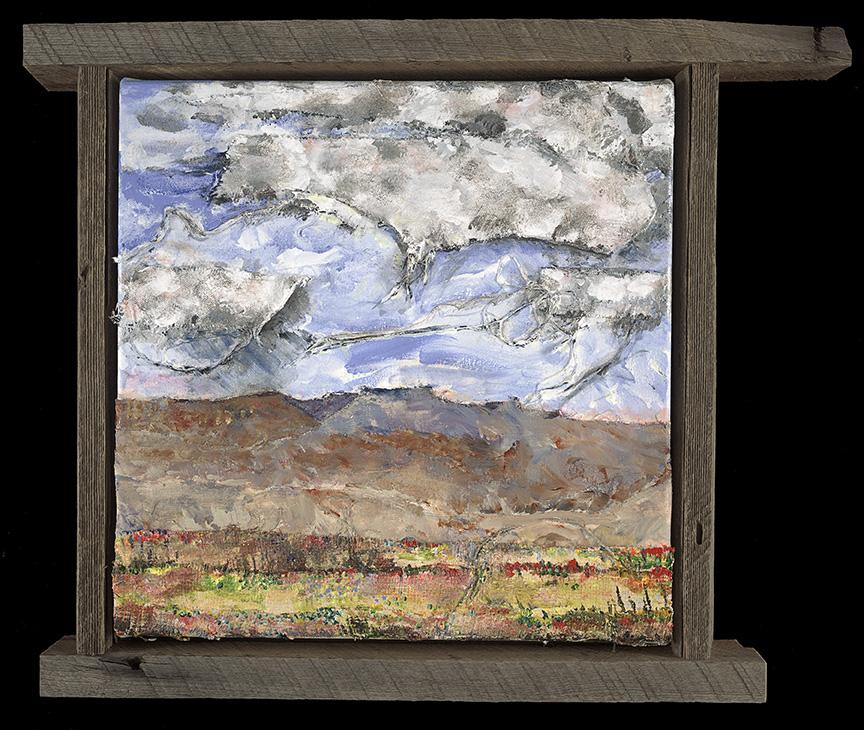 "Mesa | 16""x 16"" | Acrylic and Canvas on canvas"