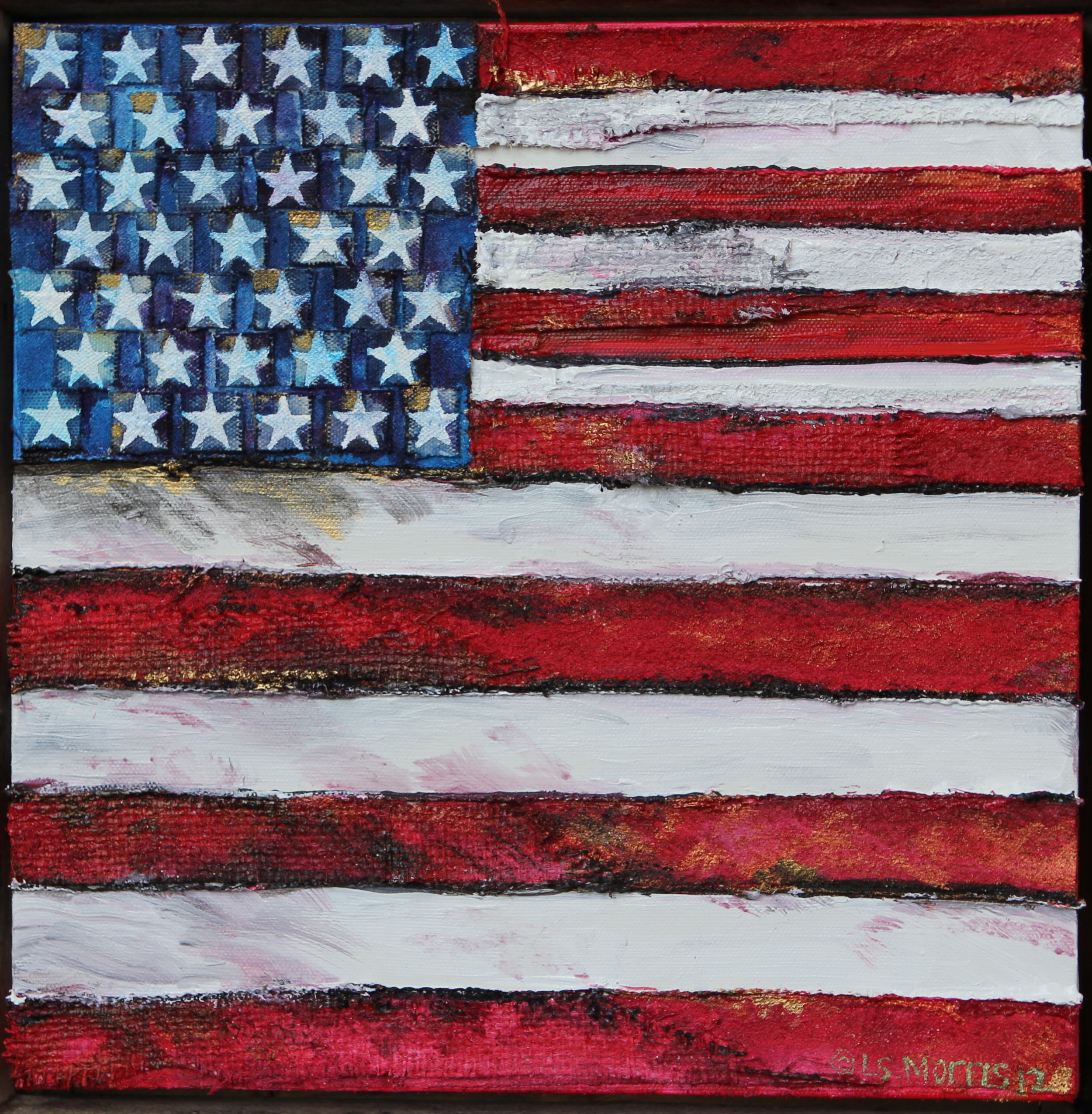 "Americana | 14""x14"" 