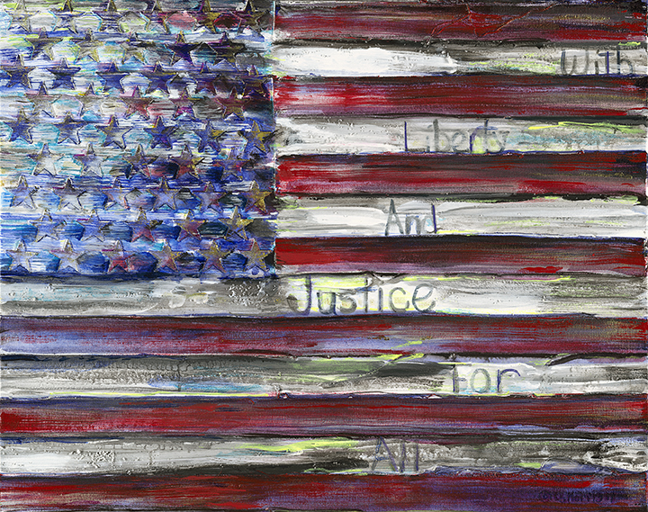 "Liberty (small) | 22"" x 28 "" 