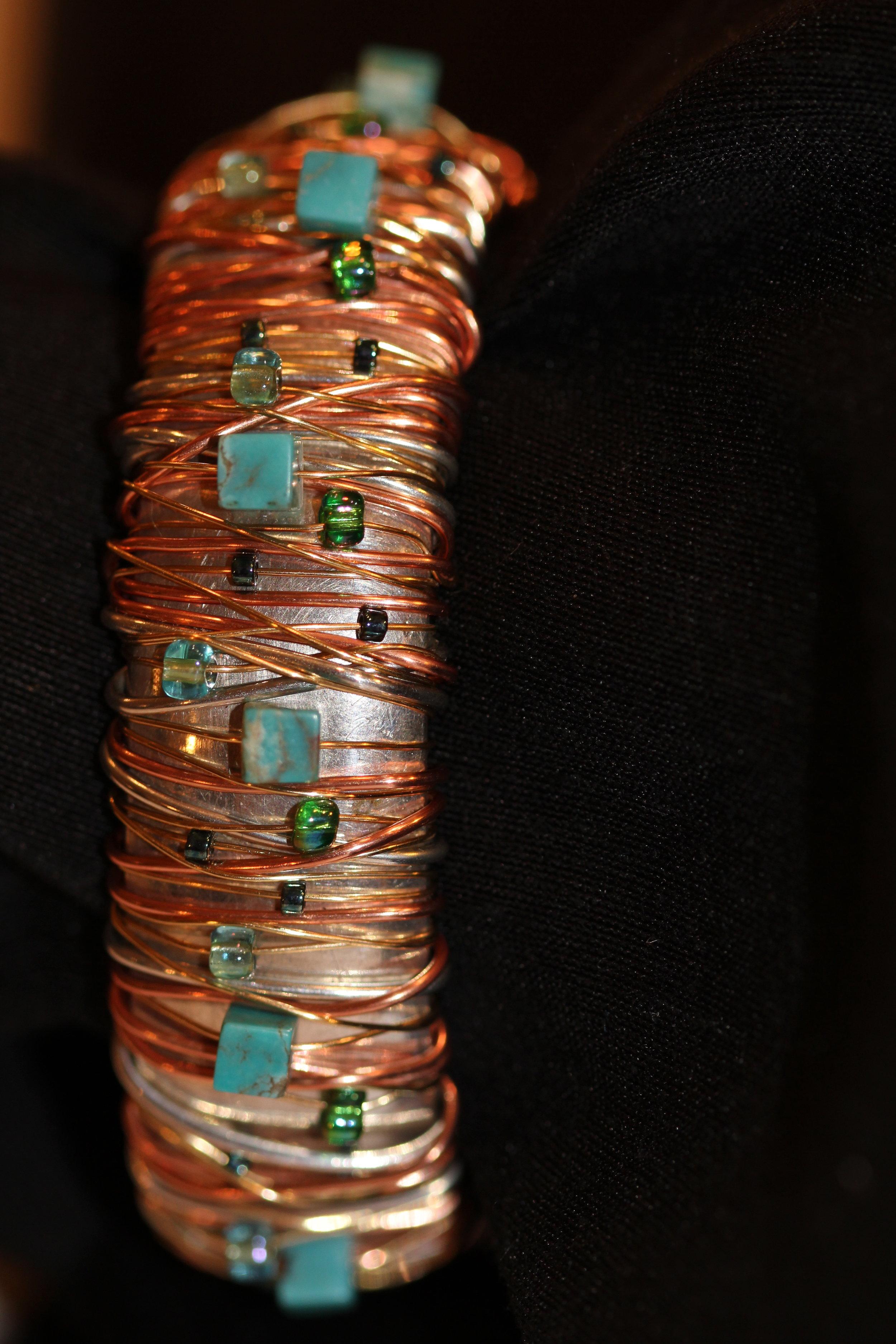 Sterling Silver Base Bangle Bracelet | $295. | SOLD
