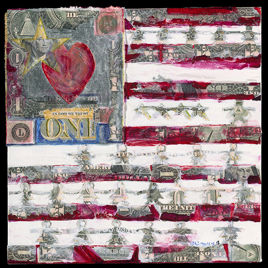 Money Love | 14' X 14"