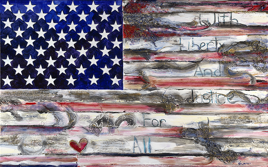"With Liberty | 32"" x 54"" 