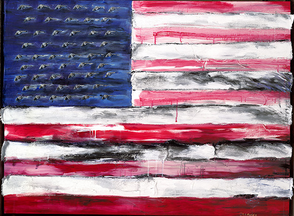 "The United States of Gun | 38"" x 50"" 