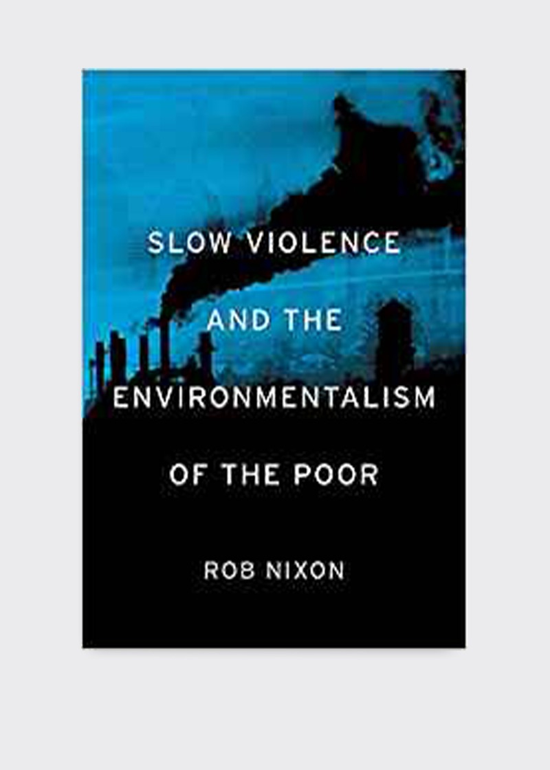 Rob Nixon's book Slow Violence