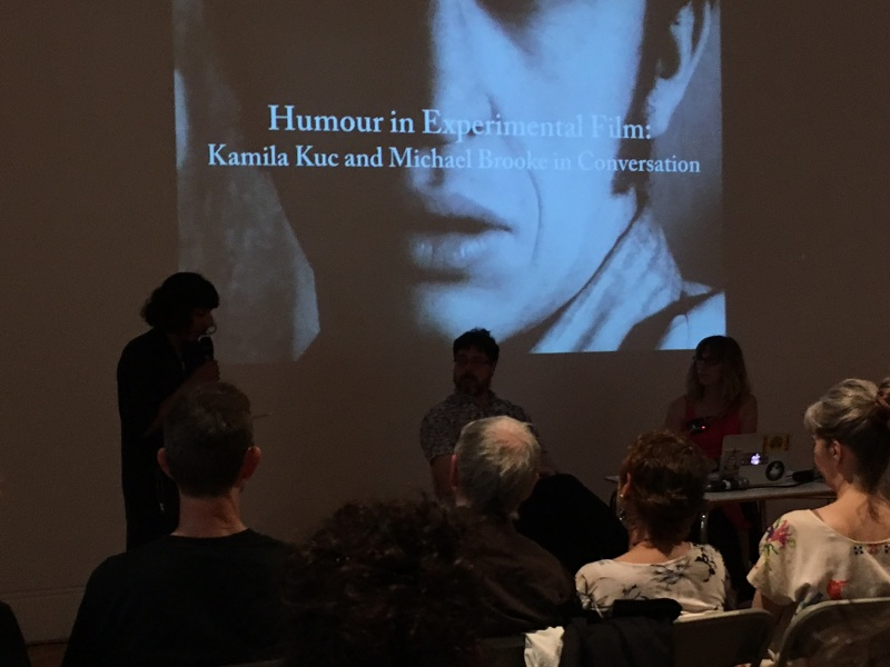 Humour in Experimental Film: Kamila Kuc and Michael Brooke in Conversation