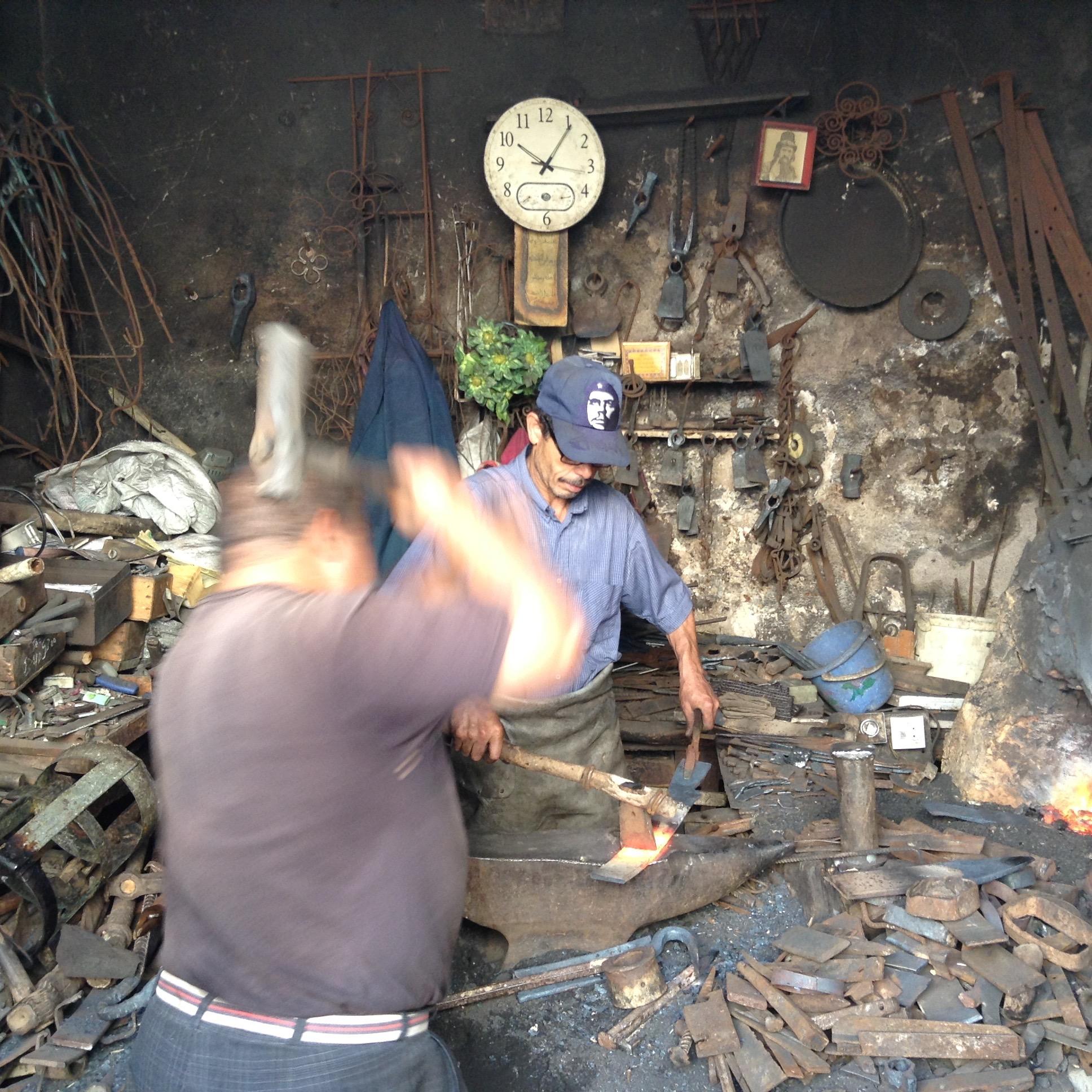 Metal workers, Sefrou