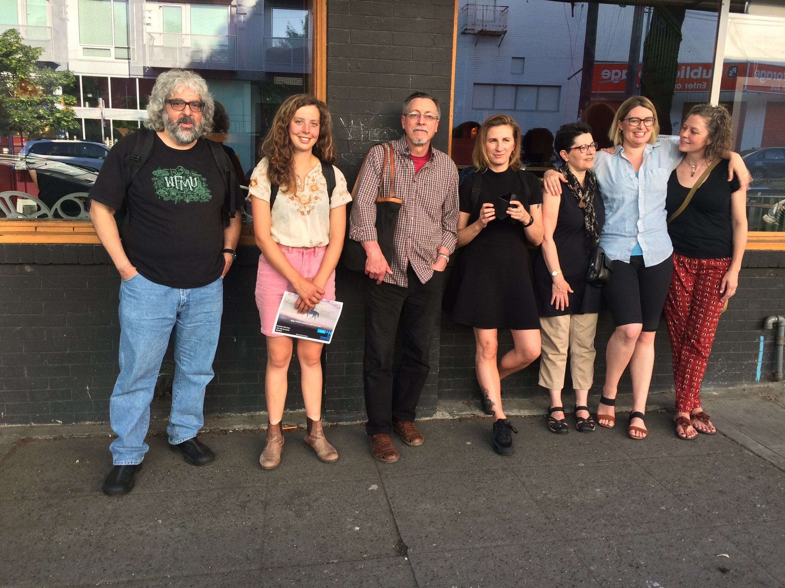 Disasters of Peace vol.3, Northwest Film Forum, Seattle, WA, with Steve Demas, Linda Fenstermaker, Dan Greenblatt, Caryn Cline, Johanna Gosse and Holly Deye de Vega