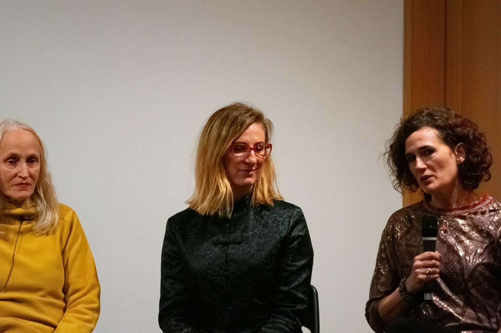 Q&A after Disasters of Peace vol.6, Whitechapel Gallery, London, with Cecelia Condit and Sam Jury. Photo by Zula Ra