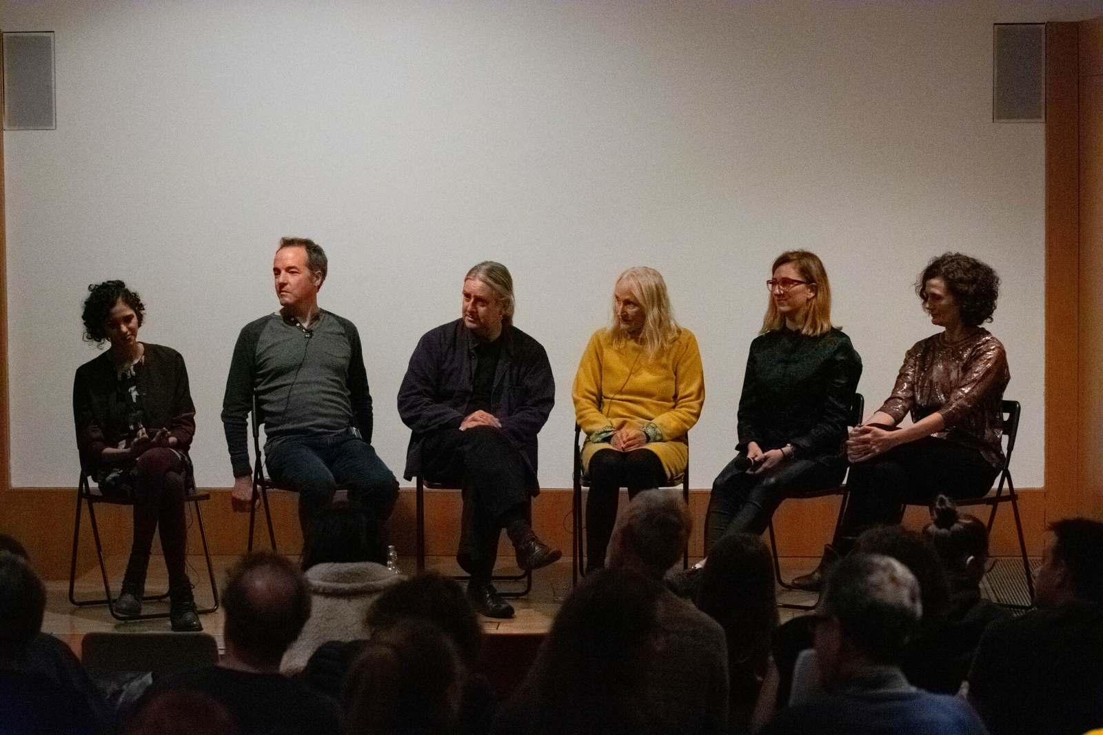 Q&A after Disasters of Peace vol.6, with Shubanghi Sihgn, Reed O'Beirne, Richard Ashrowan, Cecelia Condit and Sam Jury. Photo by Zula Ra