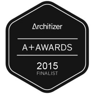 Architizer A+ Awards 2015 for the Residential: Private House (XS <1000 sq ft) category, finalist