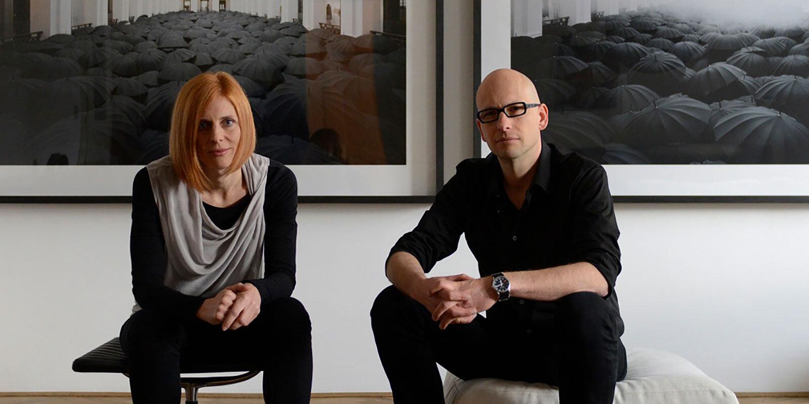 Tina Gregorič  and  Aljoša Dekleva , founders  photo by Damil Kalogjera