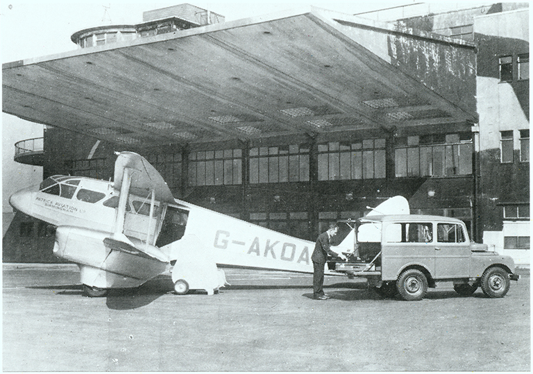 Patrick Aviation did much to establish Elmdon as a commercial airport