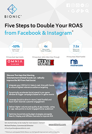 Five Steps to Radically Improve Your ROAS - From Facebook & Instagram
