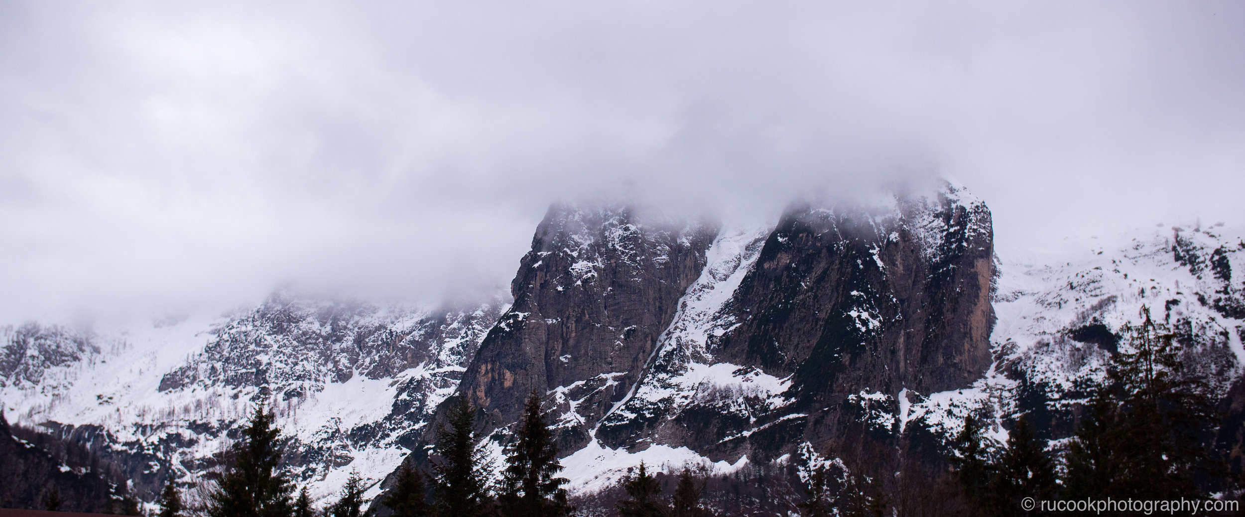 Mountains on the Italian-Solvenian Border