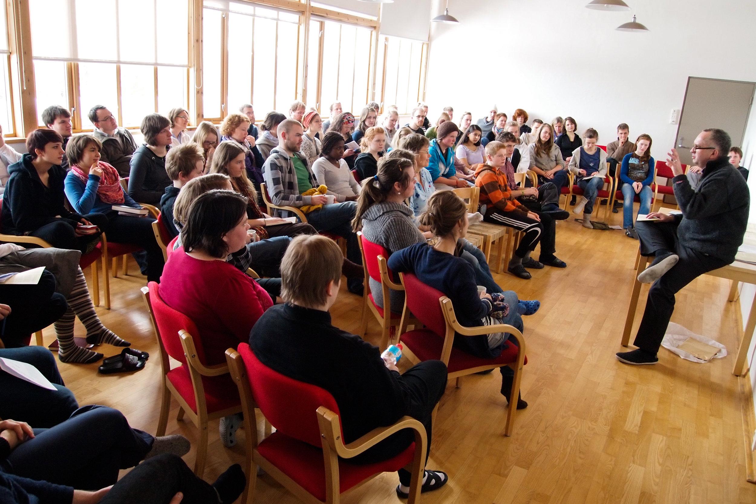 Grupper - Lia Gård er et populært sted for samlinger i regi av organisasjoner, bibelskoler og menigheter.