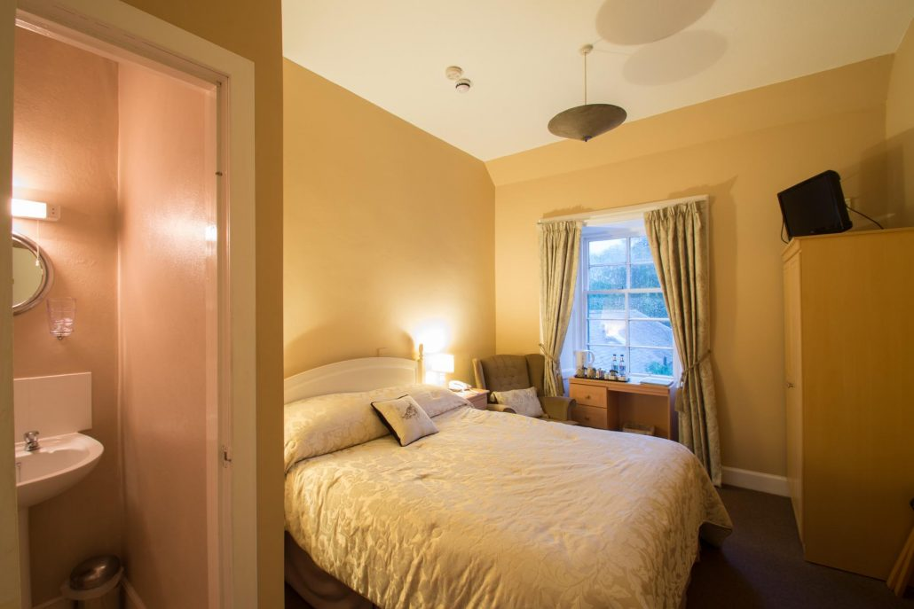 Snipe - Our most modest room, the Snipe has a King Size bed and boasts lovely views over the side of the garden.
