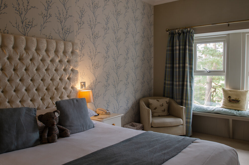 Mallard - The Mallard is a luxurious and stylish room with a King Size bed. One of our most popular rooms because of the stunning view it offers over the beautiful river Nith.
