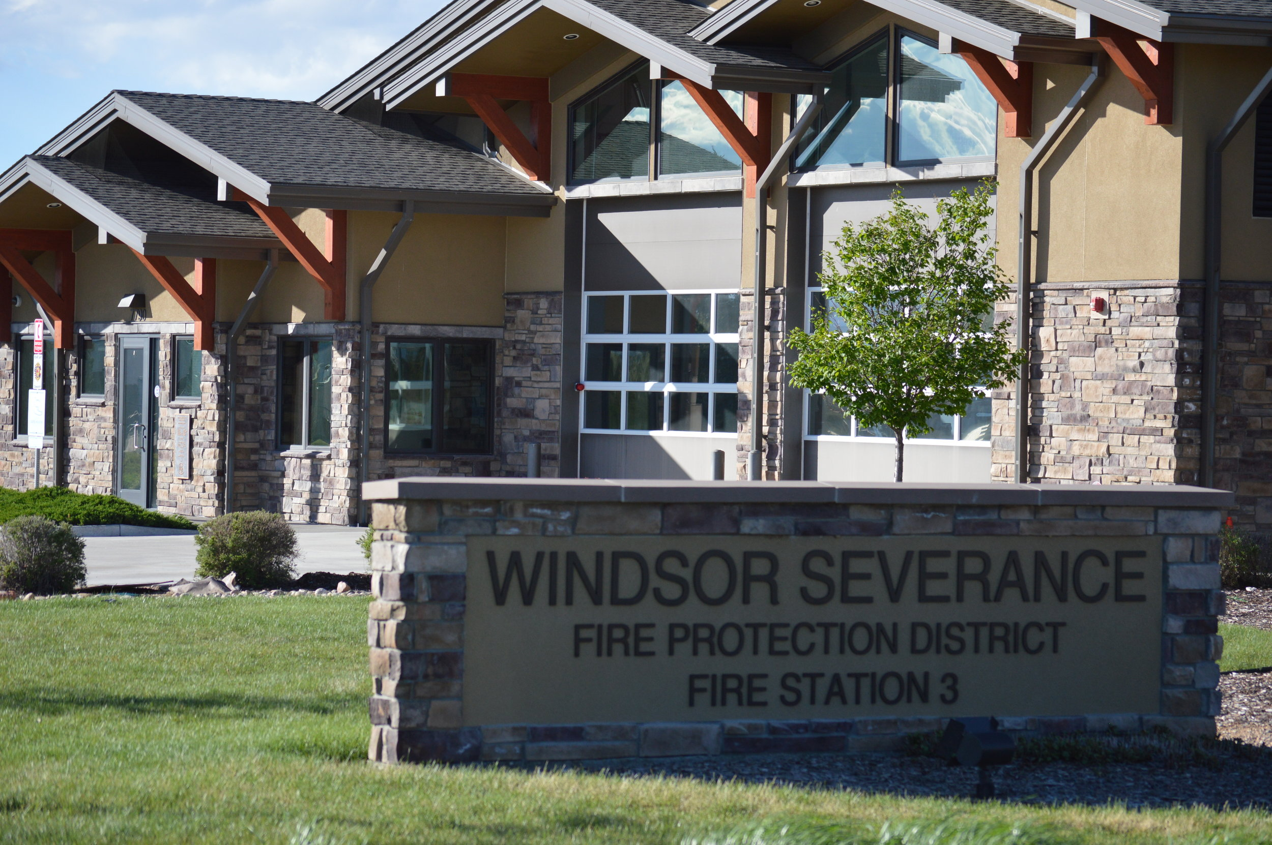 Windsor Severance Fire District serves parts of Larimer County