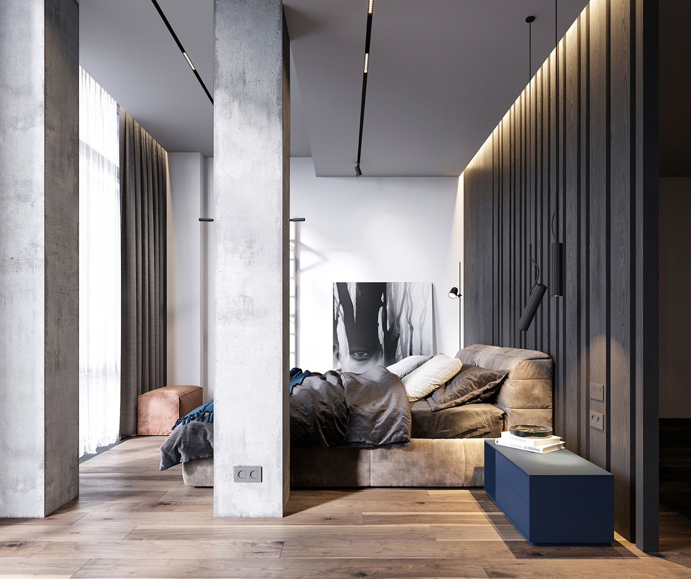 Luxury master bedroom ideas - design trends 2020 — Aluminr ...