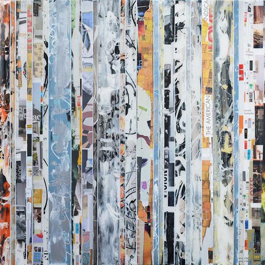 "Andrzej Karwacki, ""EQ Redefined, 1600-48-1"", 48""x48"", mixed media on panel"